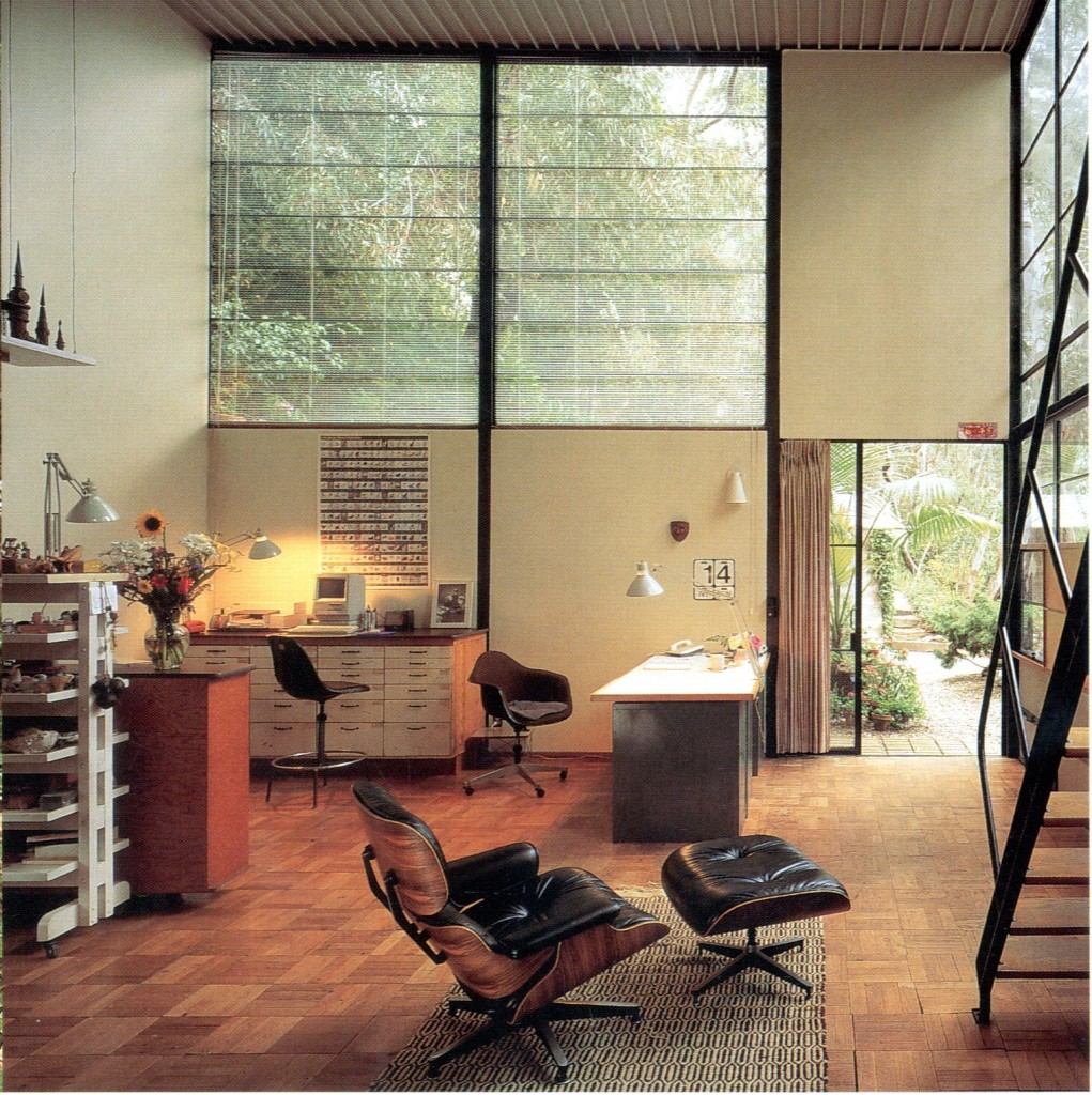 photo gallery eames foundation. Black Bedroom Furniture Sets. Home Design Ideas